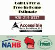 Accessible Bath Solutions of Appleton Helps Disabled Residents Stay Safe in Their Homes through Handicap Bathroom Remodeling