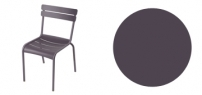 Fermob outdoor lounge new Plum color