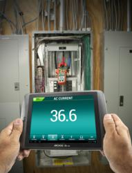 EXtech Ex845 android electrical current app