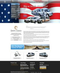 National Bus Sales Website - Davey Coach