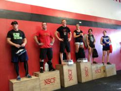 Winners of Northstate's Fittest competition