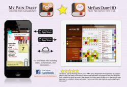 My Pain Diary HD for iPad syncs with the award-winning My Pain Diary: Chronic Pain Management for iPhone.