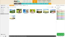 MailPix makes selecting a Facebook or Instagram image easy