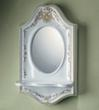 Sophie Porcelain Mirror Frame With Shelf From Herbeau