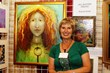 Artist Shannon Guest creates Guardian Angel Portraits at her booth both days of Victory of Light.