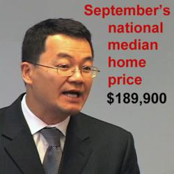 NAR Chief Economist Lawrence Yun talks about home prices and home sales for September 2012