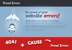 Proud errors