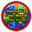 Hannah's Badge of Cool