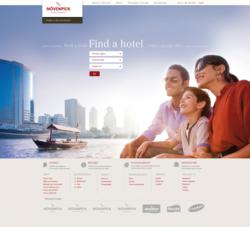 Mövenpick Hotels & Resorts new website
