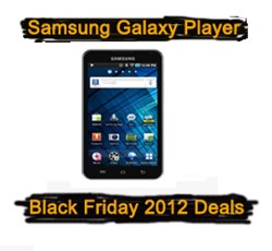 Samsung Galaxy Player Black Friday 2012