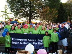 Thompson Creek Supports Komen for the Cure!