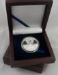 "Kesef Silver Company Limited Edition ""Menorah"" Design Fine Silver Round in Mahogany Display Box"