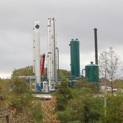 The Turkey Creek Waste-to-Energy LFG processing facility