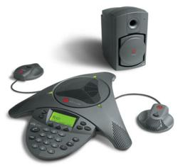 Polycom SoundStation VXT 1000 Conference Phone and Sub Woofer