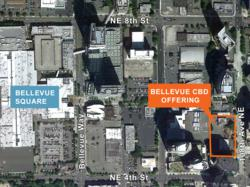 Bellevue Central Business District Development Site