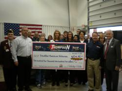 Thompson Electric, Plumbing, Heating and Cooling, Veterans Day 2011