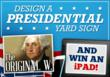 """Political Sign Rewind"" iPad Giveaway"