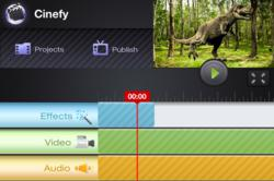 Cinefy's Robust Effect Layering System Allows Users To Created Complicated Videos Easily