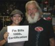 100th certification