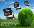 Cymbet EnerChip batteries are Eco-Friendly and Safe