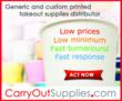 CarryOutSupplies.com Takes Wholesale Distributing of Takeout Supplies...