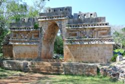 Mayan Arch in Puuc Style at Labna, Yucatan