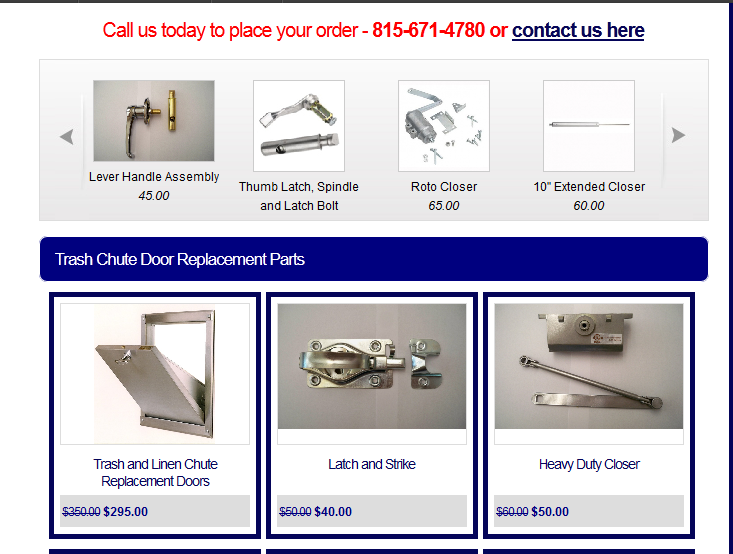 Affordable Replacement Trash Chute Parts For Winter