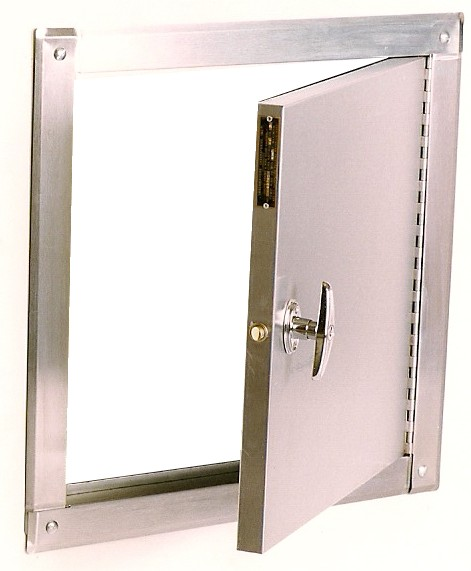 Trash Chute Door Parts : American chute systems now sells trash doors for