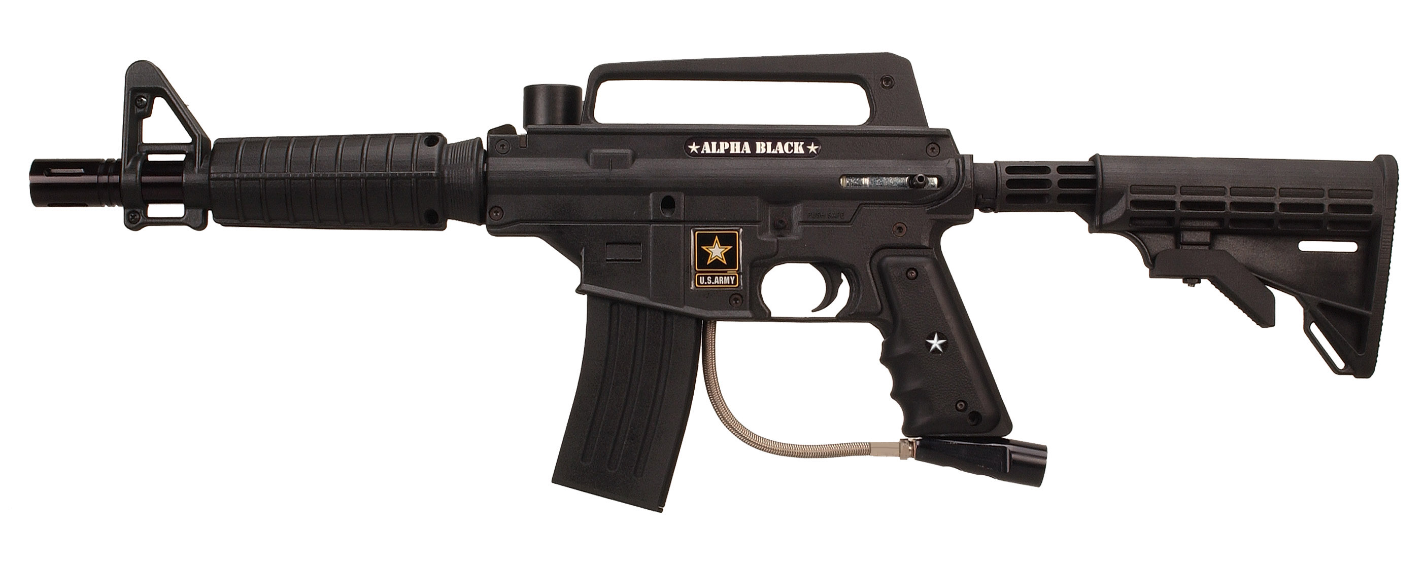 how to turn on a paintball gun