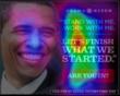 President Obama heat chart