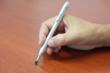Optional knurled finish aluminum interchangeable grip