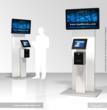 Dual-Screen iPad Kiosk with Thermal Printer Module