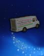 The Pajama Elves - Delivery Truck Illustration