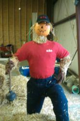 pvc scarecrow mr rooter youngstown
