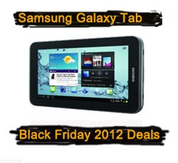 Samsung Galaxy Tab Black Friday 2012