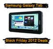 Samsung Galaxy Tab Black Friday 2012 Deals & Cyber Monday Galaxy Tab Deals