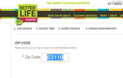 Better Life Maids green house cleaning service has introduced an online booking portal to make the scheduling process easier and faster.