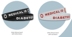 Diabetes Identification Bracelets