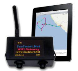 SeaSmart with PushSmart to Google Maps