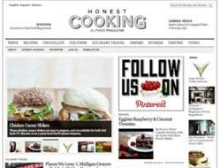 Honest Cooking -  One of the Four Best Online Food Magazines