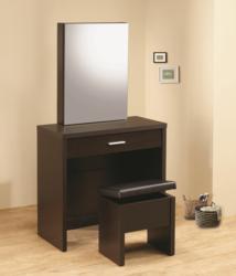 taylor cappuccino vanity desk