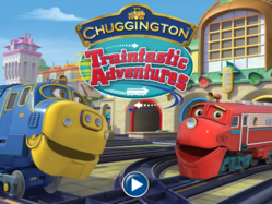 Chuggington Traintastic Adventure main menu