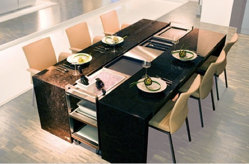 Expandable Dining Table By Poggenpohl
