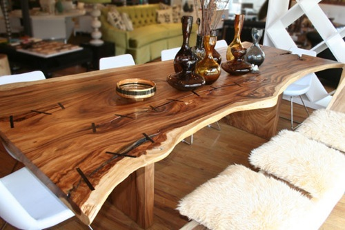 Interior Decorating Home Rustic Dining Furniture Texas