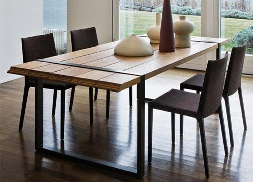 The Raw Dining Table With Movable Parts By Zanotta