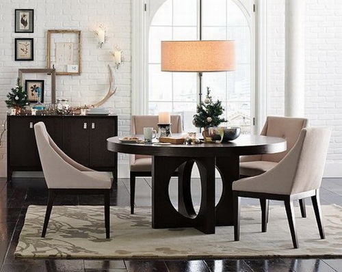 Transitional Dining Room Set From West Elm