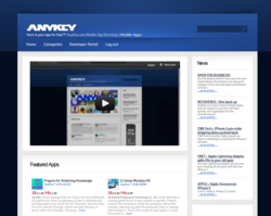 AnyKey.com Home Page