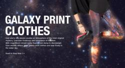 GALAXY PRINT CLOTHES
