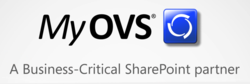 MyOVS - A Business Critical SharePoint Partner