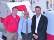 Leadership from Schneider Optical Machines Visits Rochester Optical